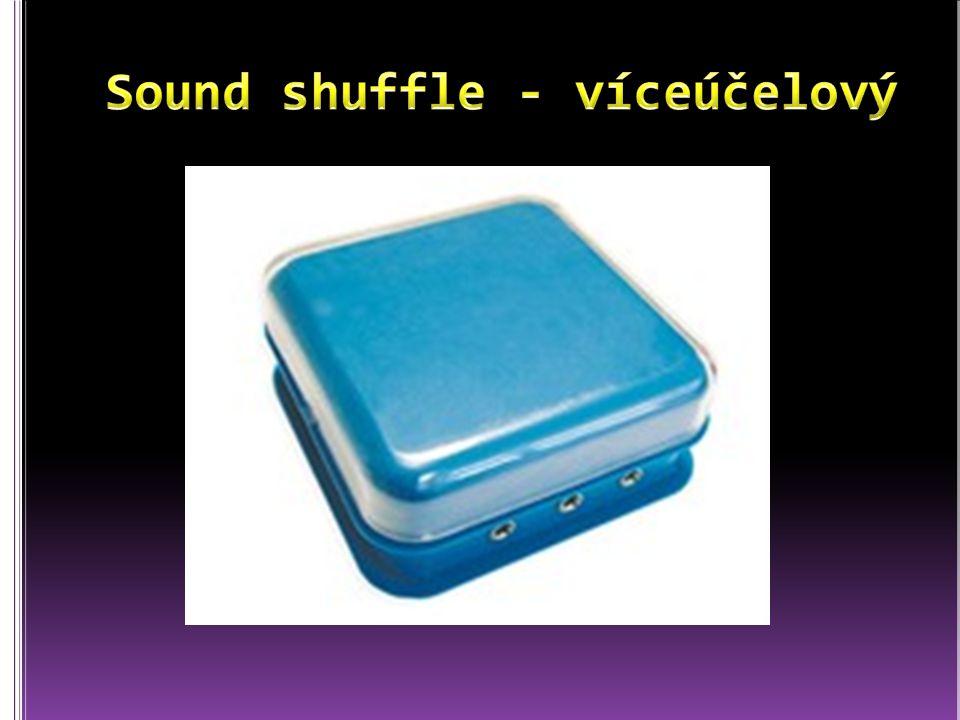 Sound shuffle - víceúčelový