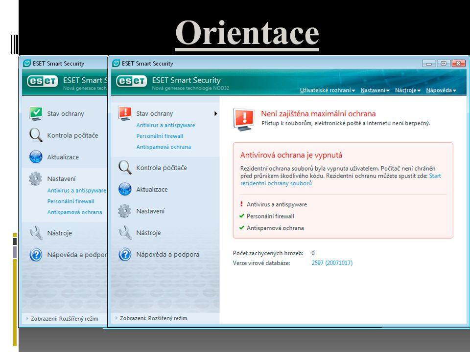 Orientace