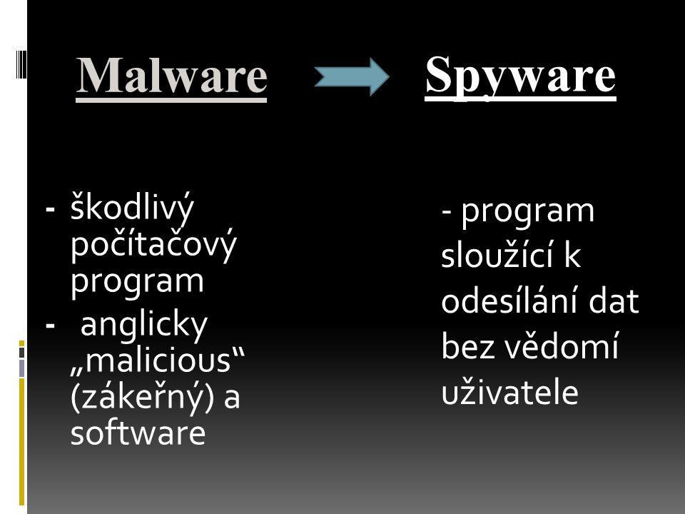 Malware Spyware.