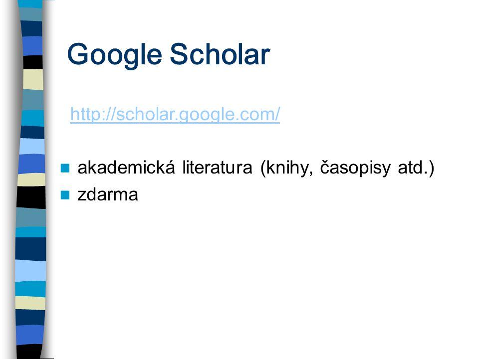 Google Scholar http://scholar.google.com/