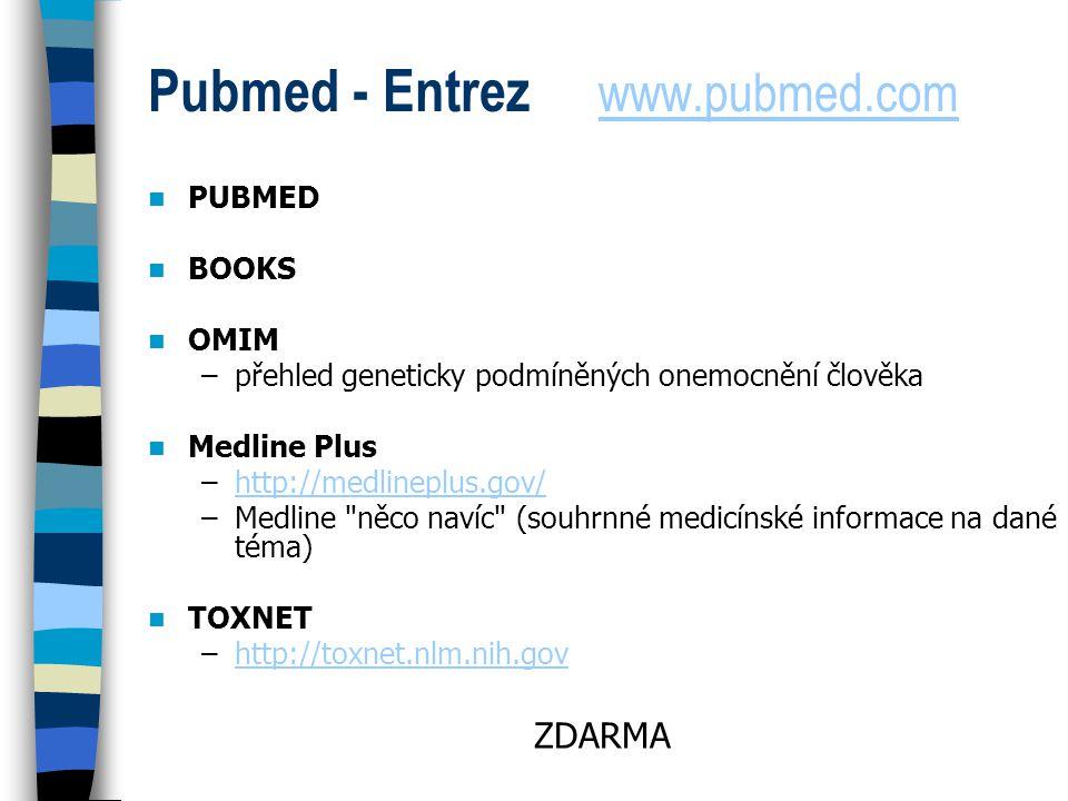 Pubmed - Entrez www.pubmed.com