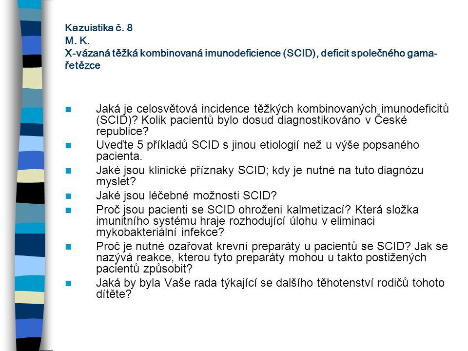 Jaké jsou léčebné možnosti SCID