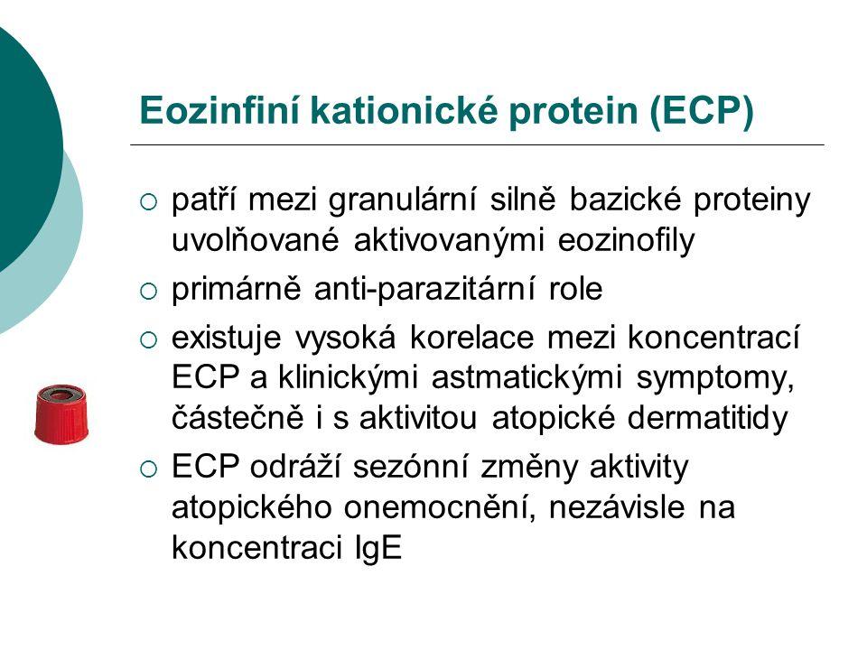 Eozinfiní kationické protein (ECP)