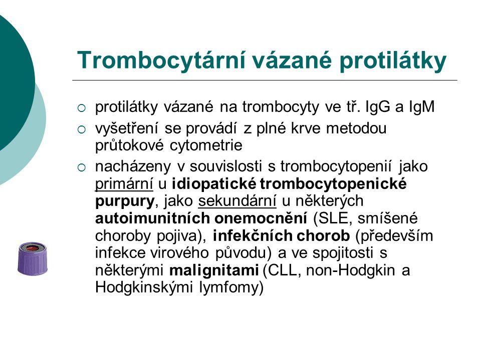 Trombocytární vázané protilátky