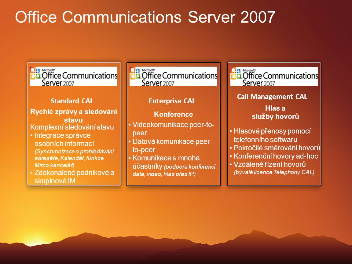 Office Communications Server 2007