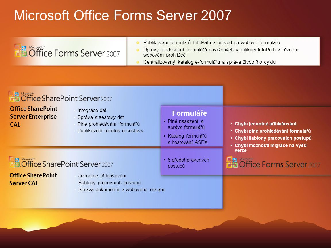 Microsoft Office Forms Server 2007
