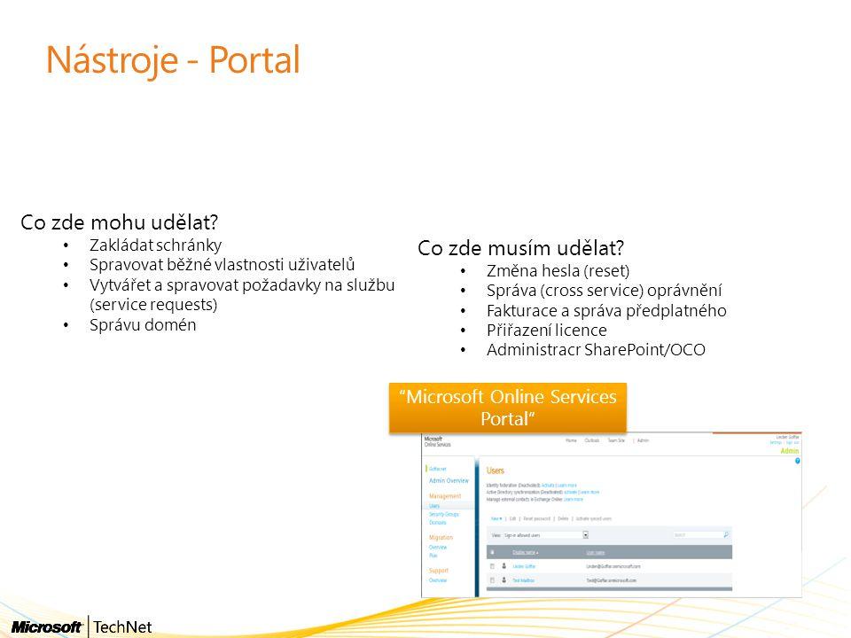 Microsoft Online Services Portal