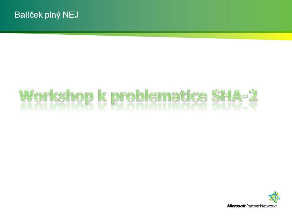 Workshop k problematice SHA-2