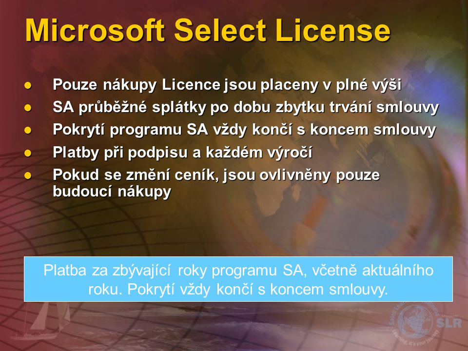 Microsoft Select License