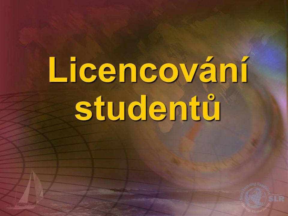 Licencování studentů