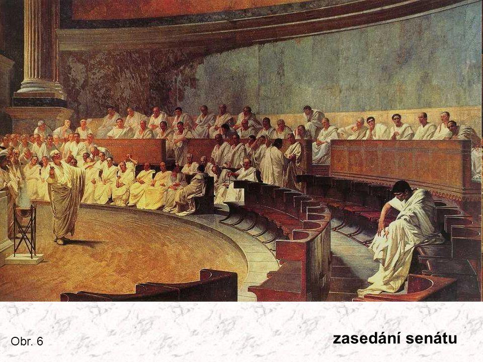 zasedání senátu Obr. 6
