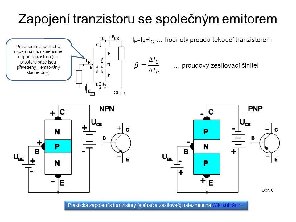 Zapojení tranzistoru se společným emitorem