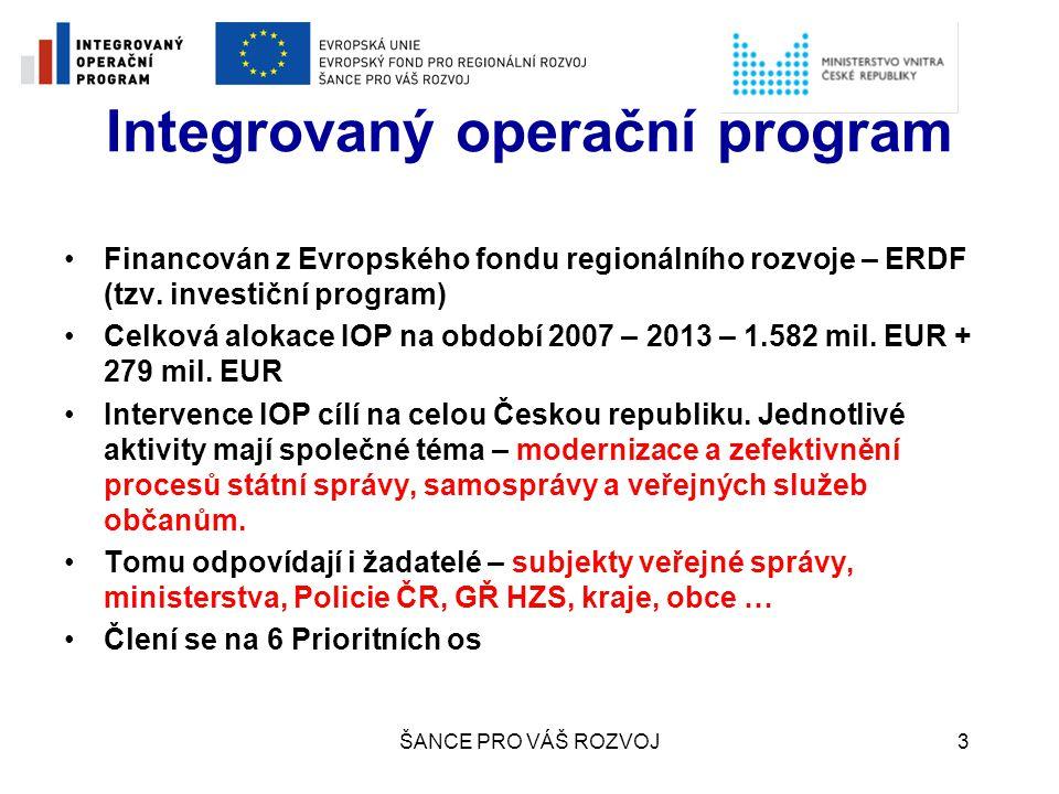 Integrovaný operační program
