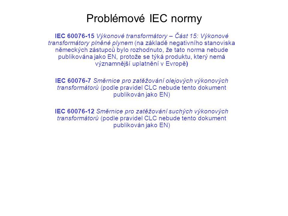 Problémové IEC normy