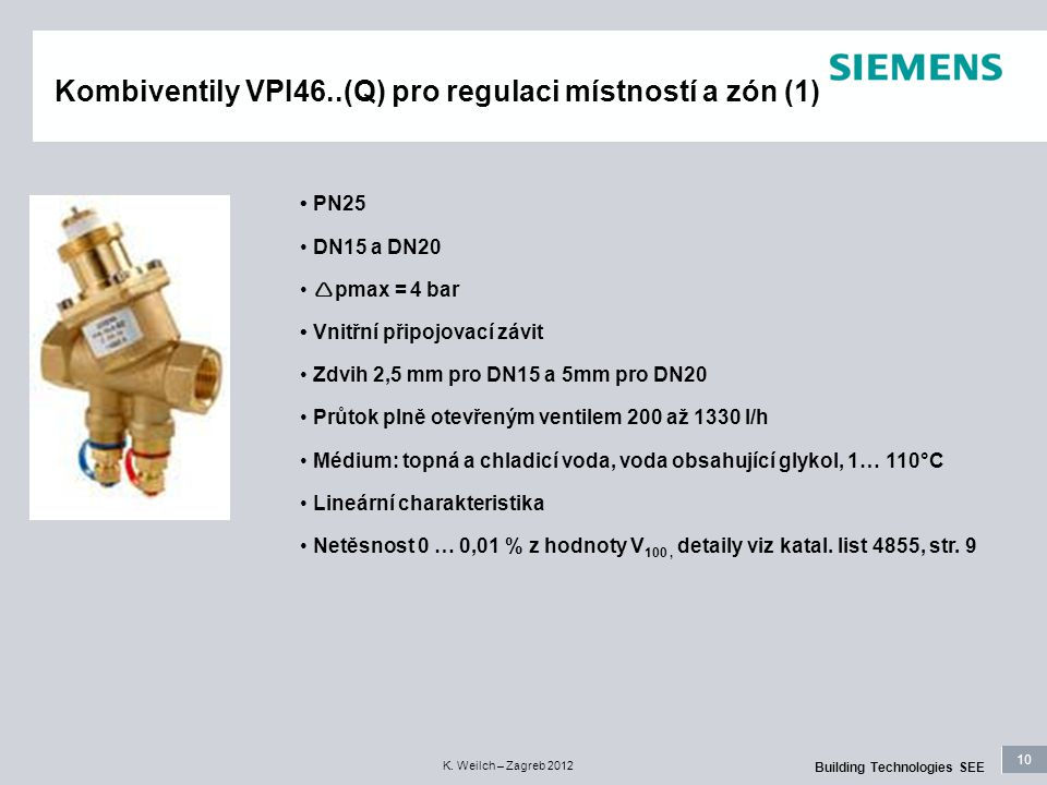 Kombiventily VPI46..(Q) pro regulaci místností a zón (1)