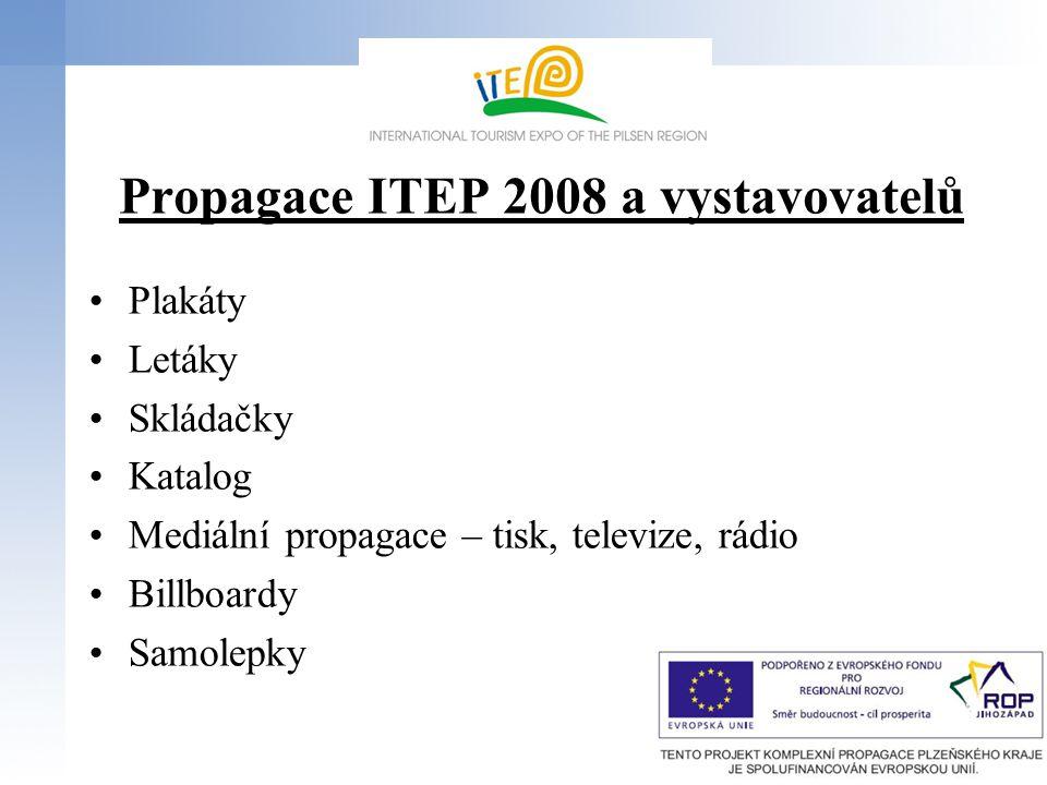 Propagace ITEP 2008 a vystavovatelů