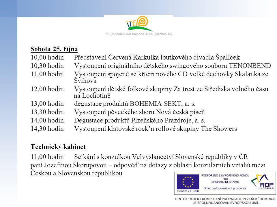 Sobota 25. října 10,00 hodin Představení Červená Karkulka loutkového divadla Špalíček.