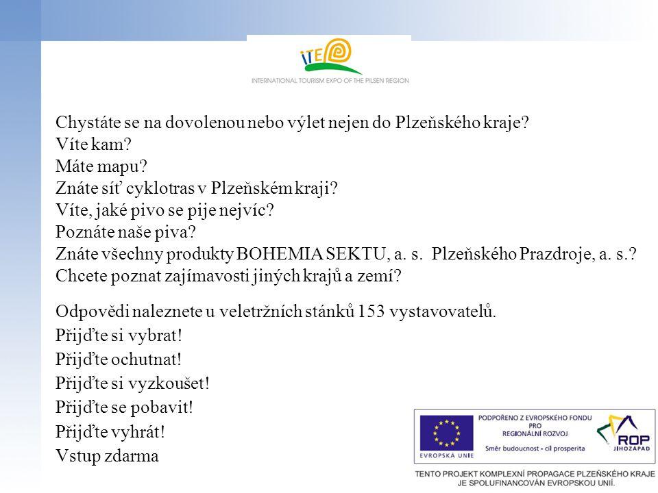 Chystáte se na dovolenou nebo výlet nejen do Plzeňského kraje