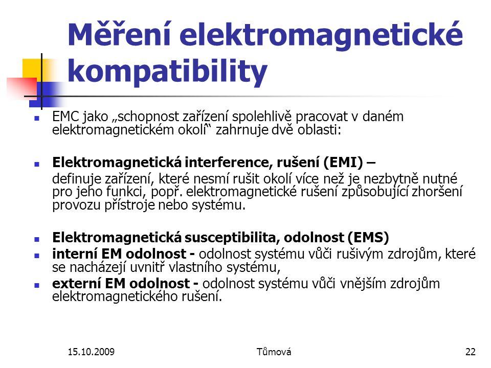 Měření elektromagnetické kompatibility