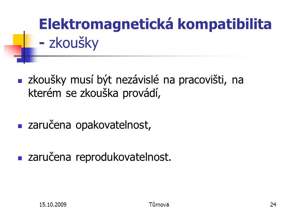 Elektromagnetická kompatibilita - zkoušky