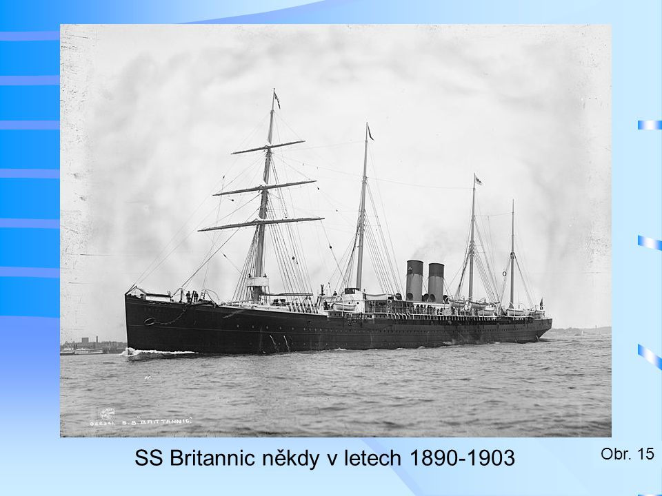 SS Britannic někdy v letech 1890-1903