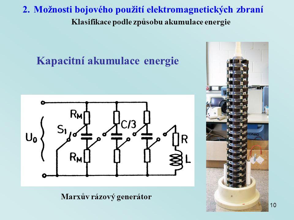 Kapacitní akumulace energie