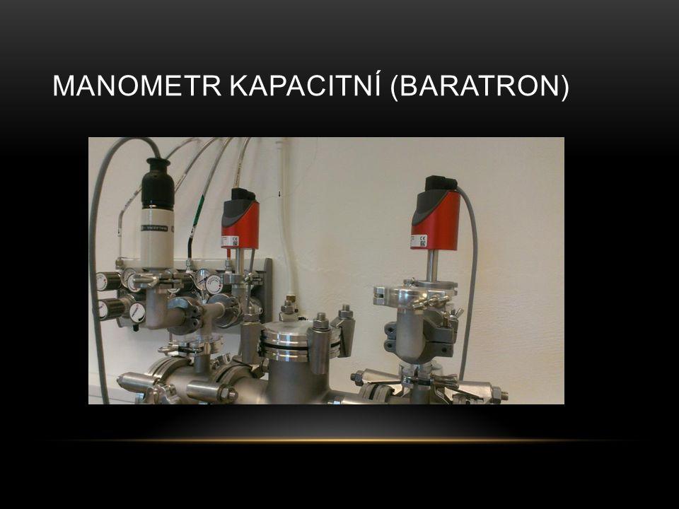 Manometr kapacitní (baratron)