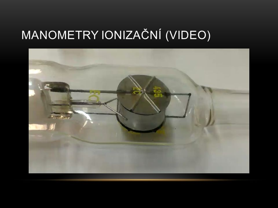 Manometry Ionizační (video)