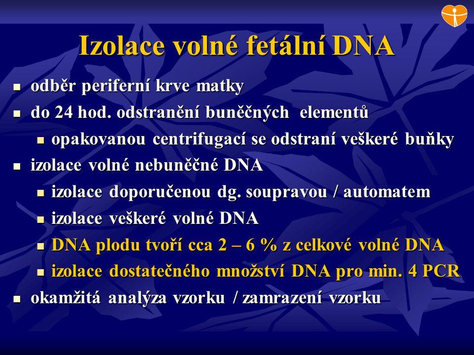Izolace volné fetální DNA