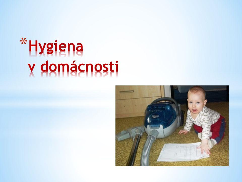 Hygiena v domácnosti