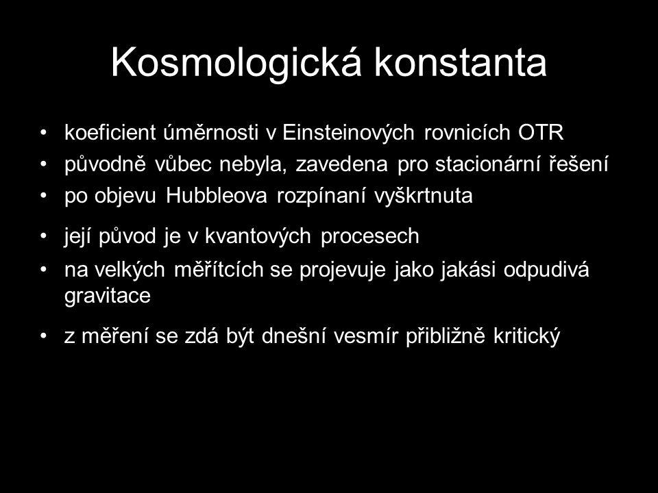 Kosmologická konstanta