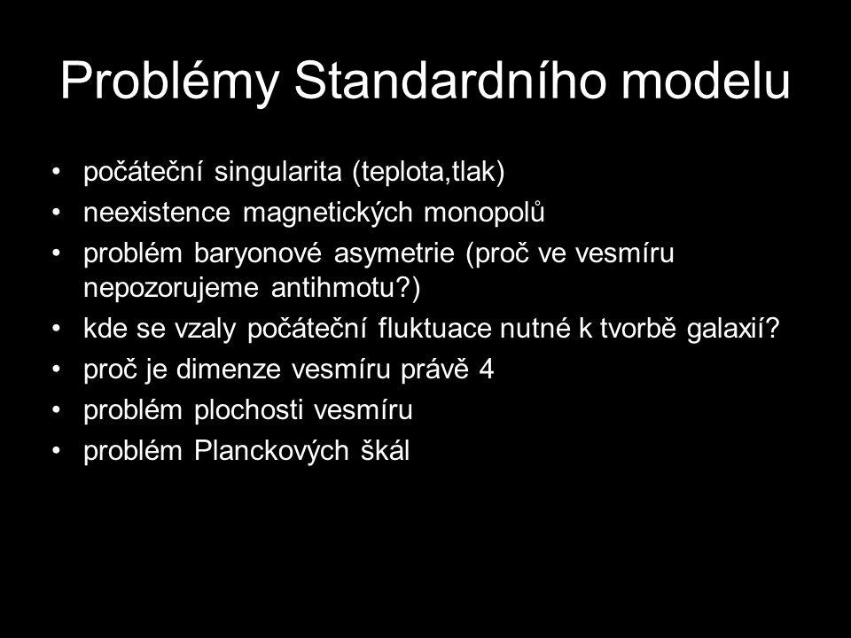 Problémy Standardního modelu