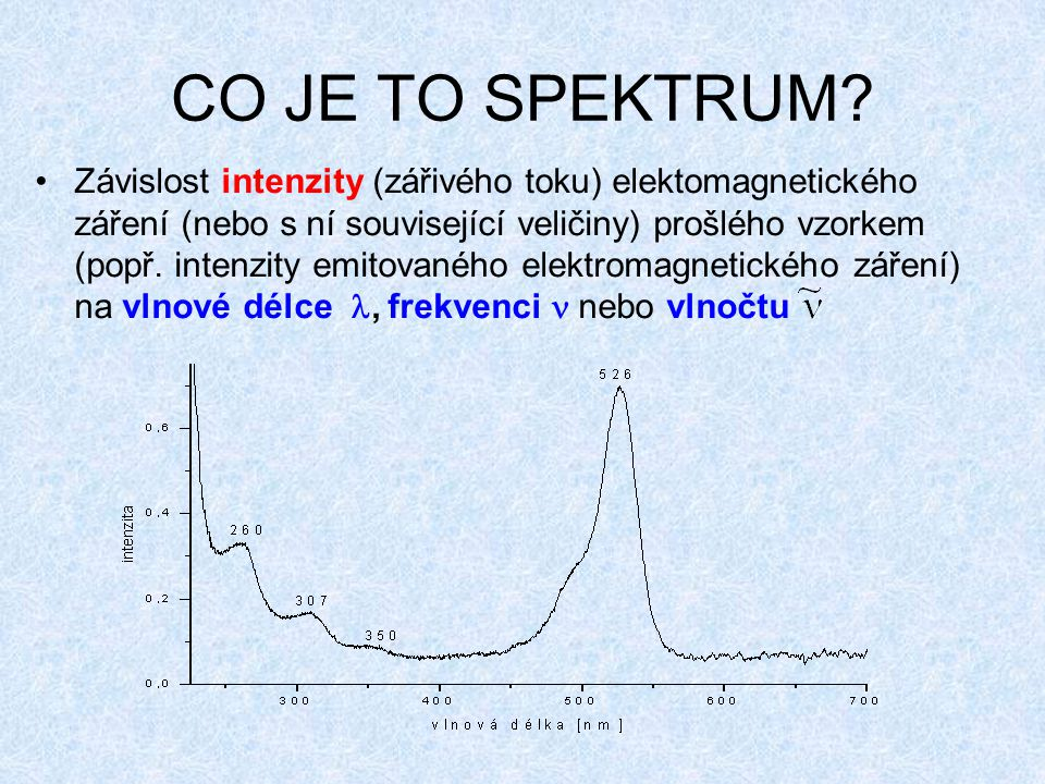 CO JE TO SPEKTRUM