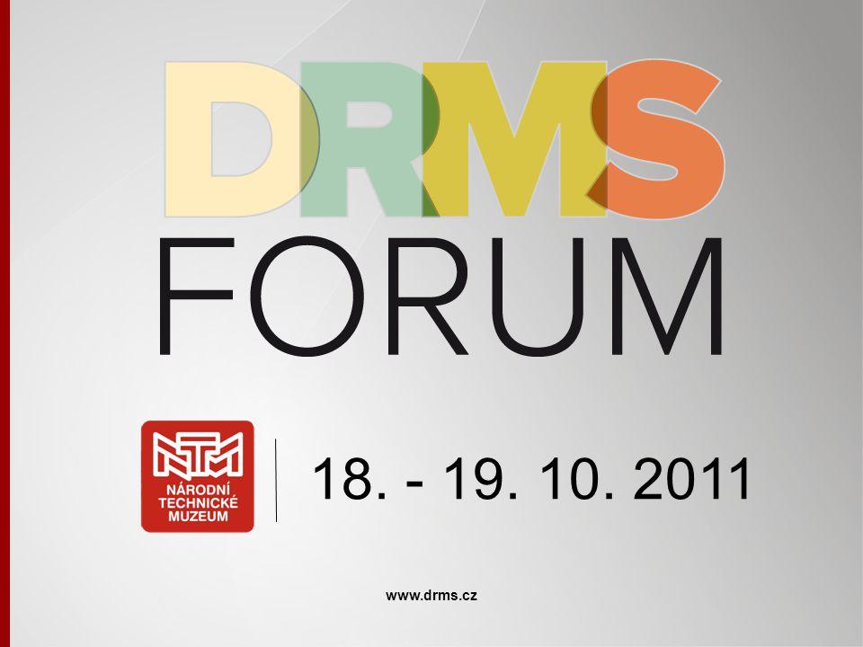 18. - 19. 10. 2011 www.drms.cz