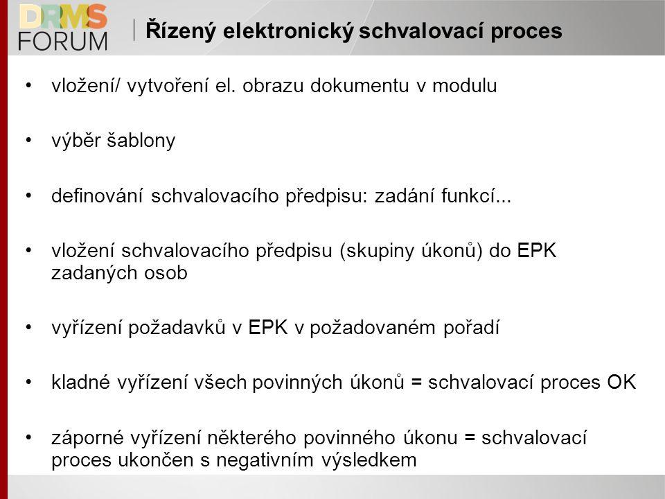 Řízený elektronický schvalovací proces