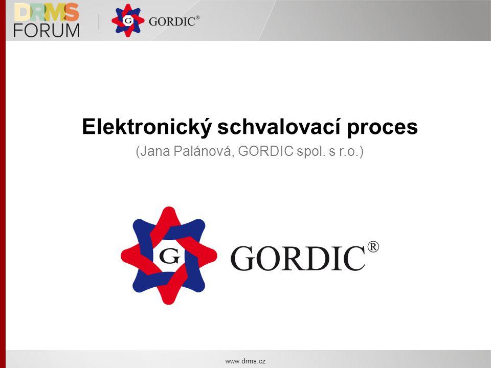 Elektronický schvalovací proces