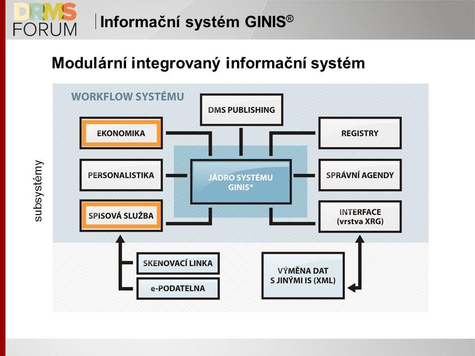 Modulární integrovaný informační systém