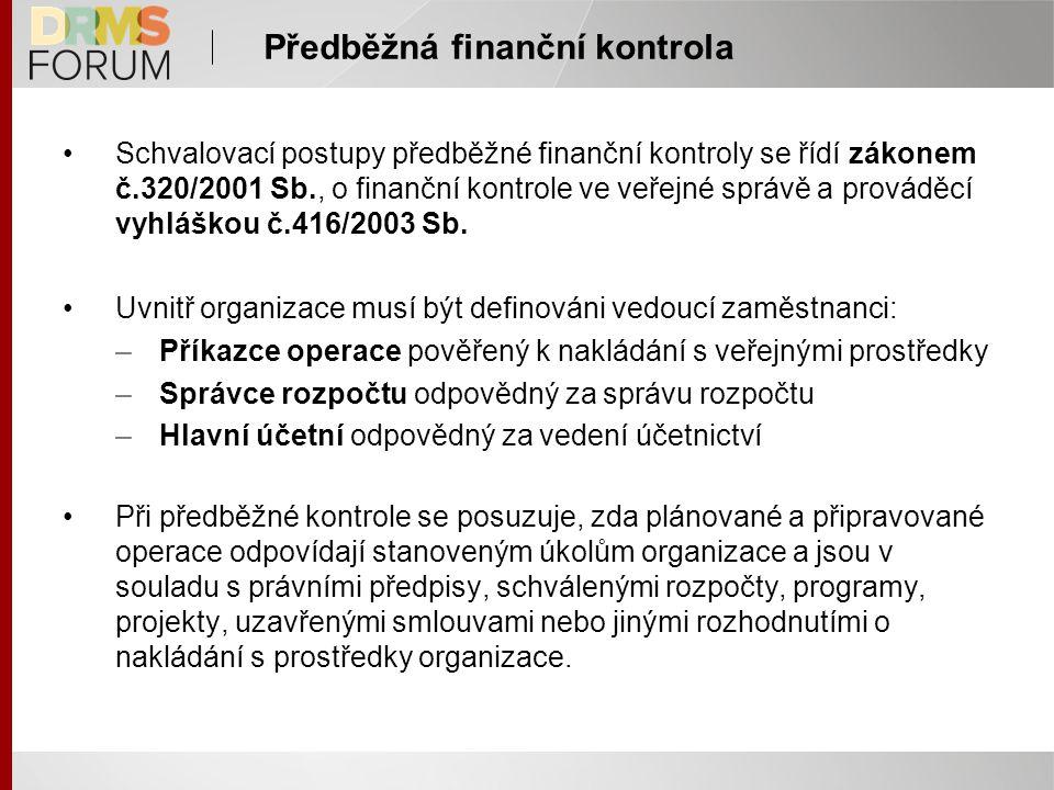 Předběžná finanční kontrola