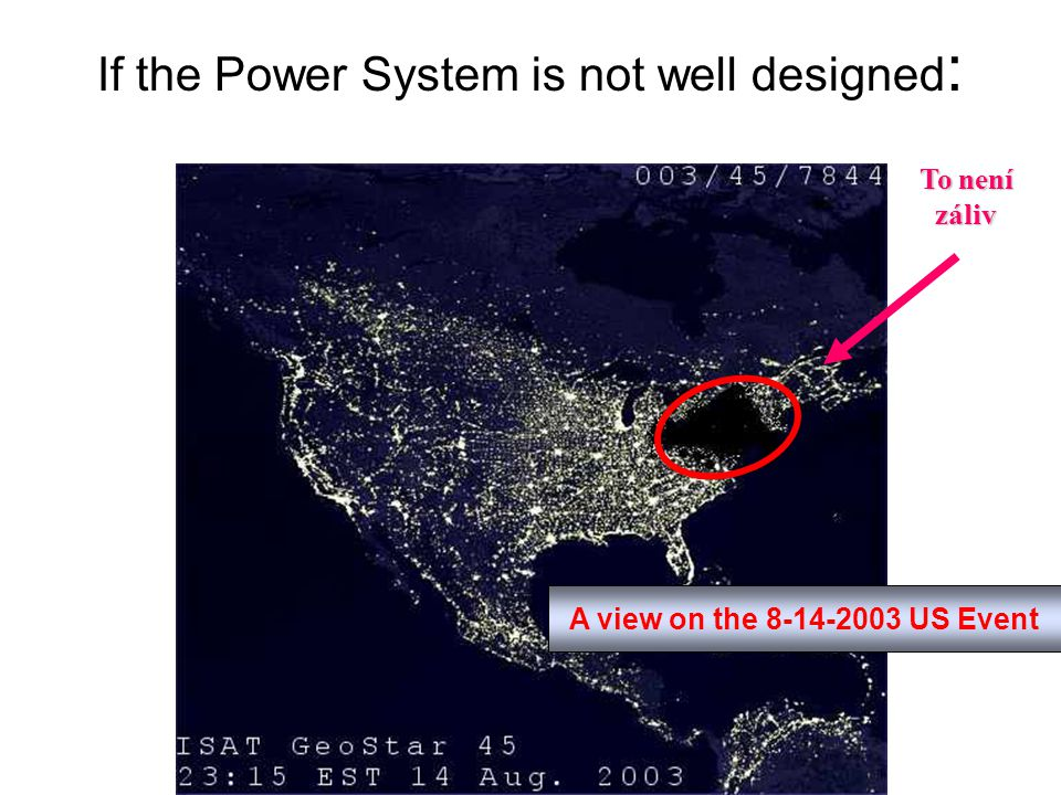 If the Power System is not well designed: