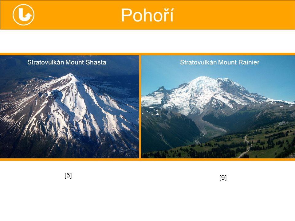 Stratovulkán Mount Rainier