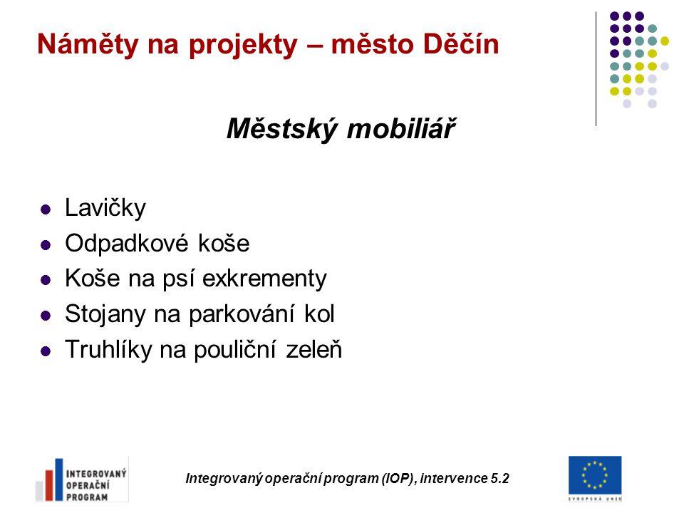 Náměty na projekty – město Děčín