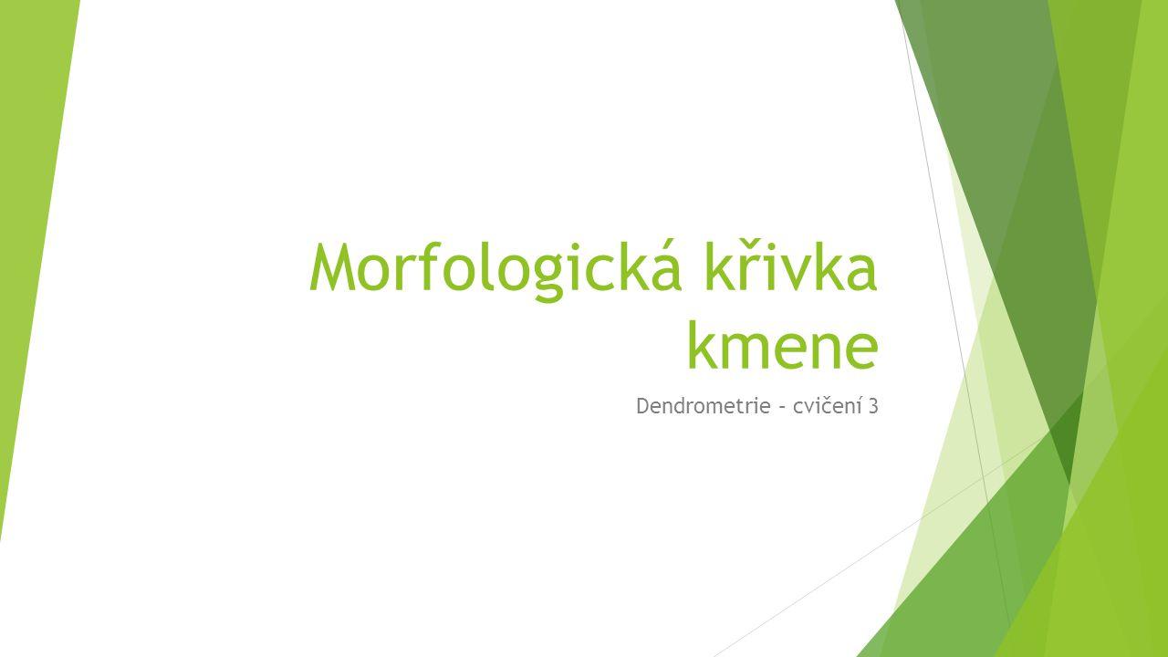Morfologická křivka kmene