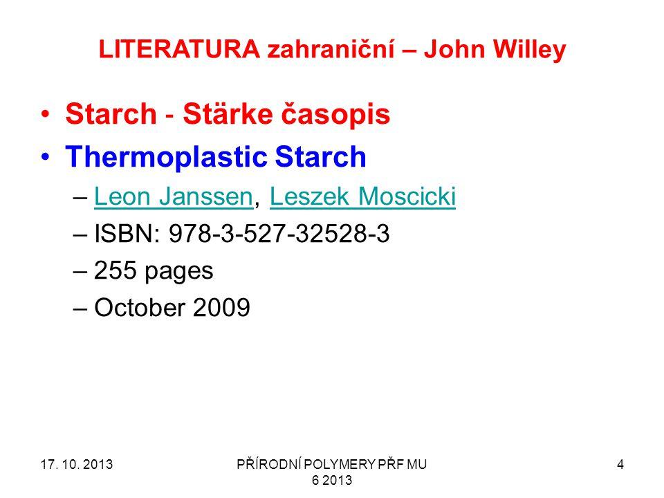 LITERATURA zahraniční – John Willey