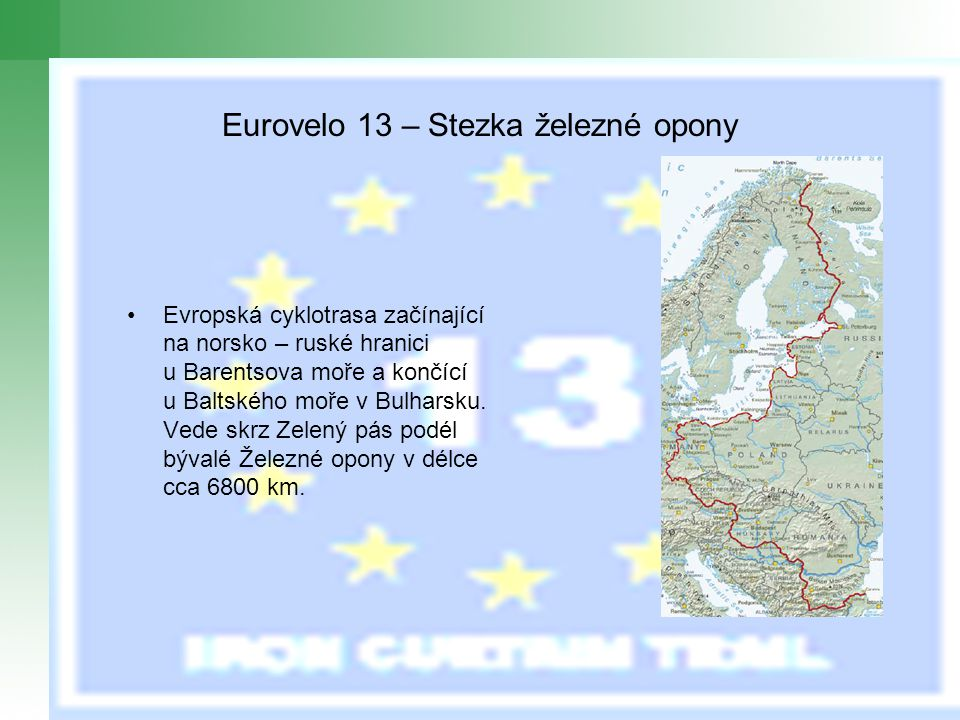Eurovelo 13 – Stezka železné opony