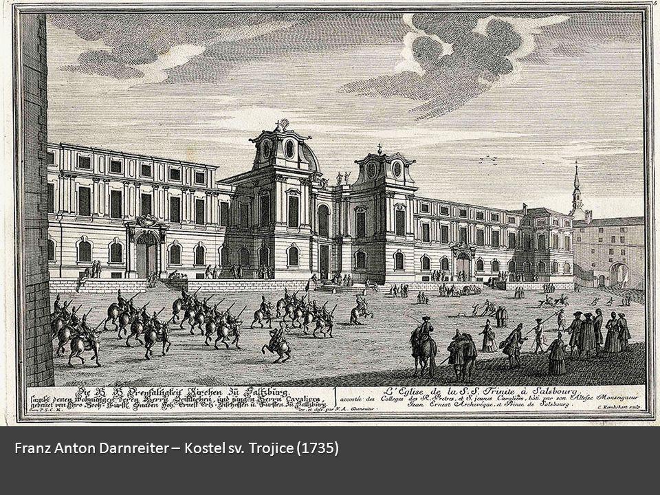 Franz Anton Darnreiter – Kostel sv. Trojice (1735)