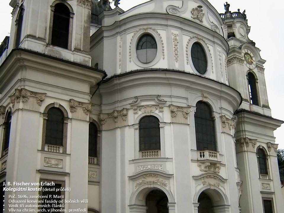 Kolegiátní kostel (detail průčelí)