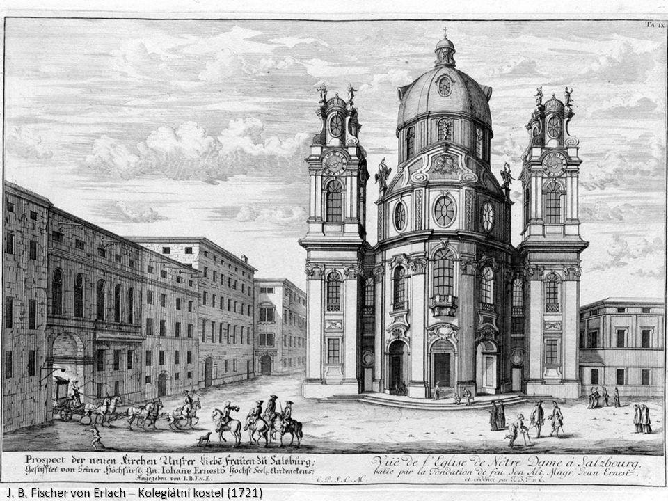J. B. Fischer von Erlach – Kolegiátní kostel (1721)