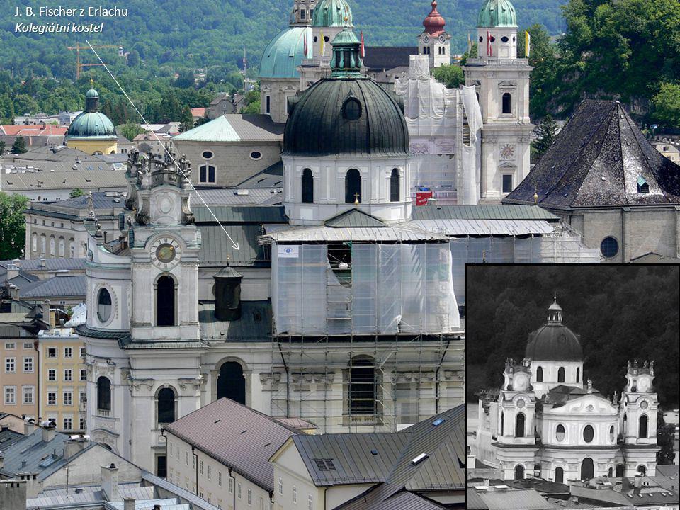 J. B. Fischer z Erlachu Kolegiátní kostel