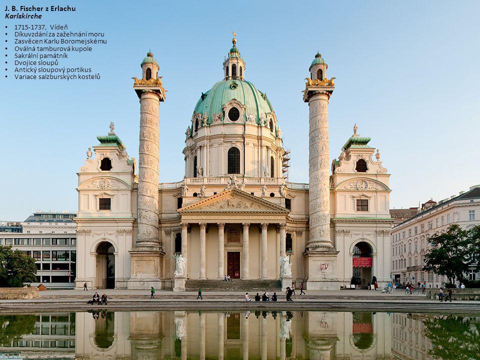J. B. Fischer z Erlachu Karlskirche 1715-1737, Vídeň