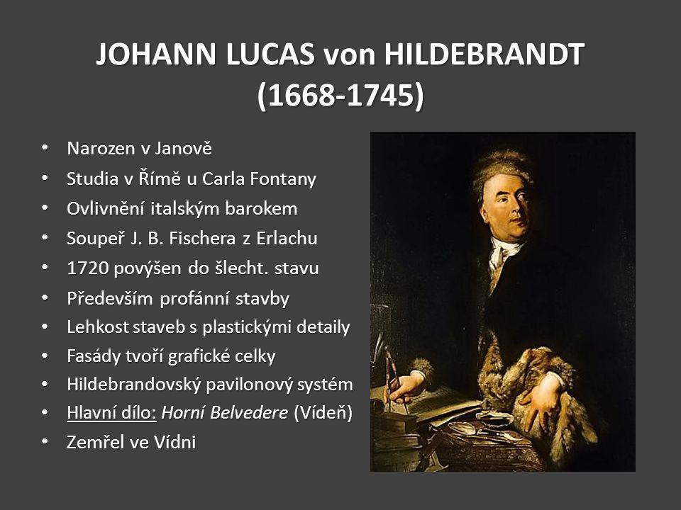 JOHANN LUCAS von HILDEBRANDT (1668-1745)